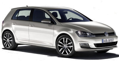 En prélude au salon automobile de Paris 2012, Volkswagen présente sa septième (!) génération de VW Golf. Bâtie sur la même plateforme que la récente Audi A3, cette VW Golf a un design dans la droite ligne de sa devancière. Comme l'Audi A3, les flancs sont marqués d'un pli de carrosserie.<br> Les plus grands changements sont cachés, avec une baisse de poids importante, des moteurs aux consommations de carburant plus faibles..